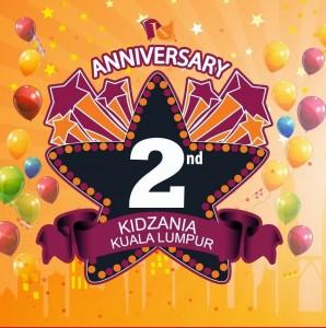 Kidzania 2nd annivesary