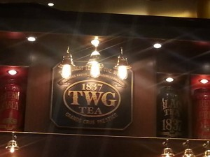 TWG Tea Enterance