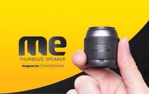 Thumb-sized speaker