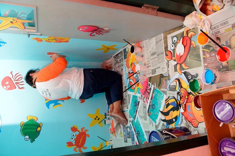 Guardian berkongsi kasih sayang kegembiraan raya dengan for Mural untuk kanak kanak