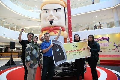 Pemenang Shop & Dine Fiesta Quill City Mall : Abang Zulkifli