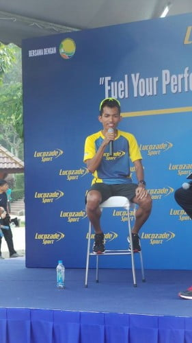 "Kempen ""Fuel Your Performance"" Anjuran Lucozade Sport"