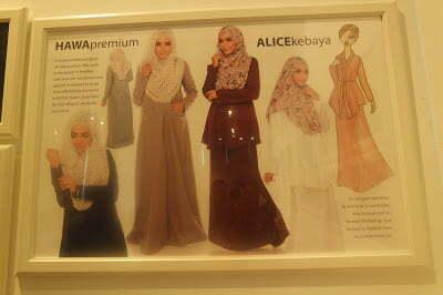 Rina Salleh Clothing Terbaru - Beat of La Donna