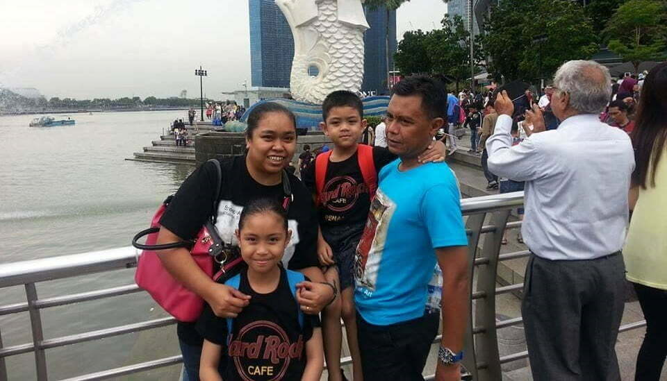 Nannie Isa di Singapore 2