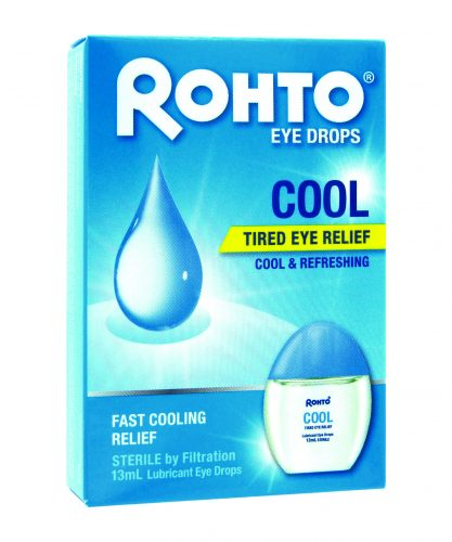 ROHTO® COOL EYE DROPS