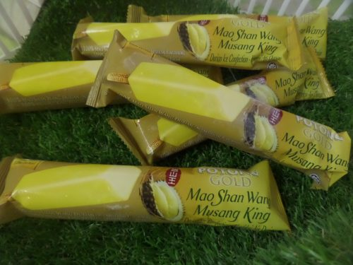 Aiskrim Durian Mao Shan Wang (Raja Musang)