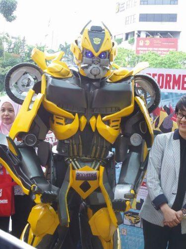 Transformers Mendarat di One Utama Shopping Mall