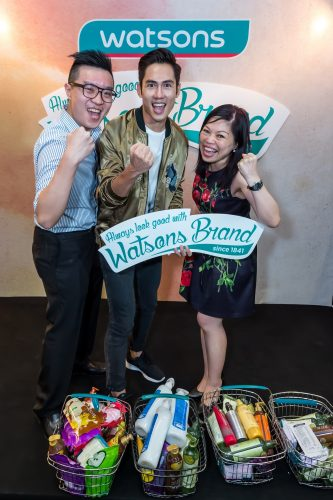 Watsons Celebrity Friends Showing Love to Watsons brand