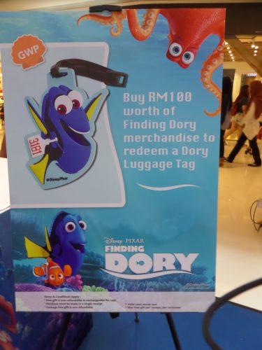 "Roadshow ""Finding Dory"" di Sunway Putra Mall"