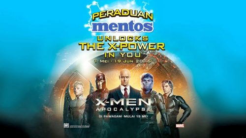 Mentos Unlocks the X-Power in You