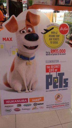 "PETSMORE Roadshow Sempena Filem ""The Secret Life Of Pets"""