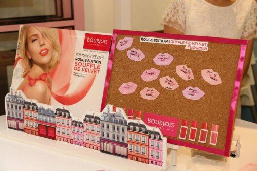 Hi Tea Bersama Bourjois Rouge Edition Souffle de Velvet