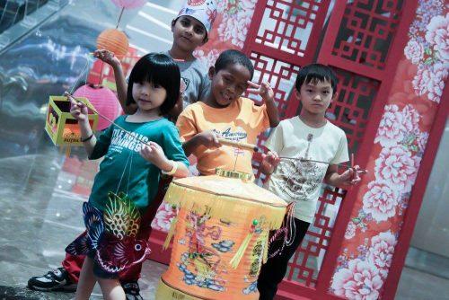 Sambutan Mid Autum Sempena Perayaan Kek Bulan di Sunway Putra Mall