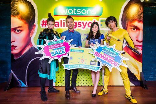 6th Anniversary with Watsons #PalingSyok VIP Members
