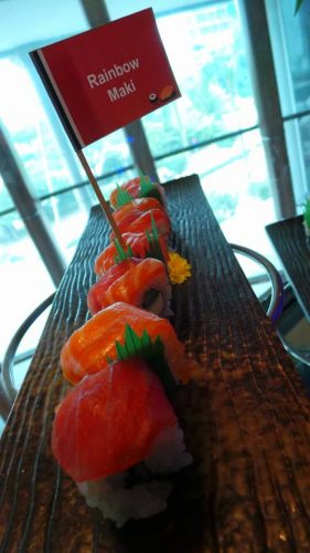 Sushi Sashimi Feast di Agehan Rest. Grand Bluewave Shah Alam Hotel