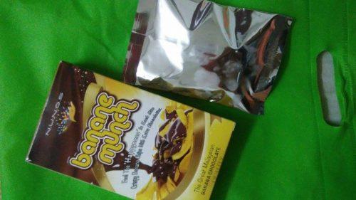 Banane Munch , Snek Terbaru Buat Penggemar Pisang & Coklat