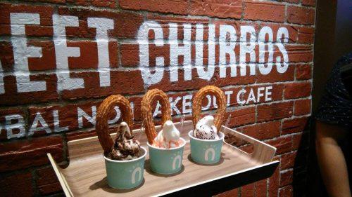 Cari Churros di Street Churros ; LG One Utama, New Wing