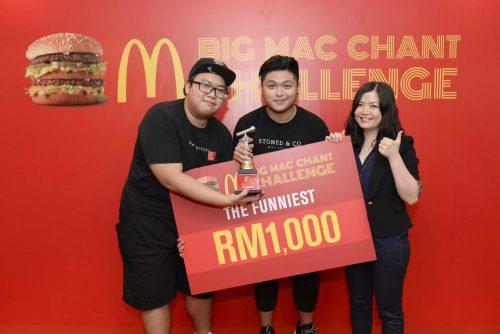 McDonald's Big Mac Chant Challenge!