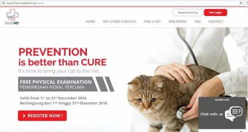 mycat2vet-website