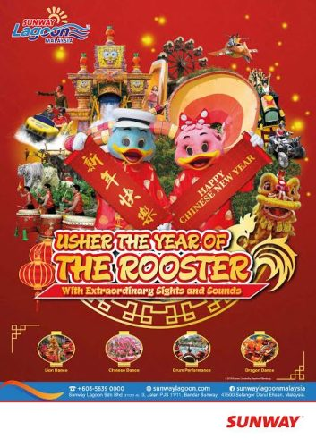 Usher In Year Of The Fire Rooster With Sunway Lagoon