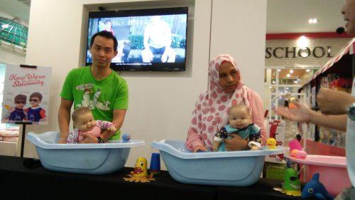 """Confident Swimming Babies & Water Safety"" Workshop Bersama Bryan Yap"